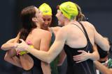 Olimpiade Tokyo - Australia cetak rekor dunia estafet 4x100 gaya bebas putri