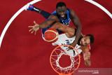 Amerika dipecundangi Prancis  tutup hari pertama basket putra