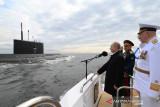 Rusia uji tembak rudal hipersonik dari kapal selam