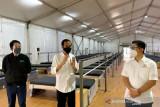 Presiden tinjau fasilitas kesehatan Rumah Oksigen Gotong Royong