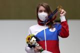 Vitalina Batsarashkina raih emas menembak untuk ROC Rusia