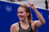 Tumbangkan ratu renang, Ariarne Titmus rebut emas 400m gaya bebas putri