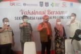OJK-Bank Indonesia Berkolaborasi Vaksinasi Ribuan Pelaku LJK di NTB
