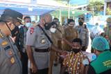 Alumni Smunda Jayapura mengandeng Polda Papua gelar vaksinasi COVID-19