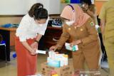 PKK Morut galang bantuan  untuk nakes dan pasien COVID-19