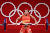 Lifter India dapat bonus piza seumur hidup usai meraih perak Olimpiade
