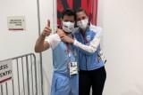 Olimpiade Tokyo: Atlet anggar Argentina dilamar di tengah sorotan kamera TV
