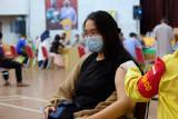 Polda Lampung gelar lagi vaksinasi COVID-19 di GSG Unila