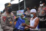 Kapolda Kalteng beri bantuan ke korban kebakaran di Palangka Raya