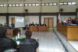 PN Palembang sidangkan empat terdakwa korupsi Masjid Raya Sriwijaya