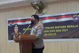 Polda Sulawesi Utara  latih 410 Bintara Polri jadi tenaga