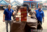 Anggota DPRD  bantu warga musibah kebakaran Desa Haragandang