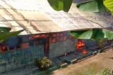 Gedung SD Salupangi di Mamuju hangus terbakar