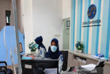 Jasa Raharja Sultra tetap beroperasi melayani nasabah dengan prokes ketat