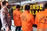 Polresta Palangka Raya tetapkan tiga tersangka pembakar lahan