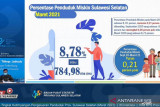 BPS: Penduduk miskin di Sulsel turun 0,21 persen