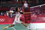 Ginting tingkatkan fokus di 16 besar Olimpiade Tokyo lawan Tsuneyama