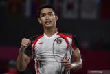 Jonatan ungguli Pranoy menuju babak kedua Denmark Open 2021