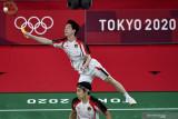 Tiga ganda putra Indonesia mulus lalui babak pembuka Denmark Open 2021