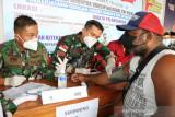Lanud Silas Papare Jayapura terus laksanakan vaksinasi yang masif terjadwal