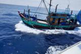 Hingga Juli 2021, KKP tangkap 125 kapal ikan asing