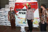 Bulog siapkan  beras bantuan 51.360 kilogram untuk PPKM Natuna