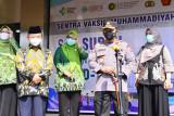 Rangkul Muhammadiyah se-Indonesia, Kapolri optimistis percepatan vaksinasi