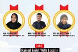 Mahasiswa Itera raih juara ke-3 inovasi sanitasi internasional