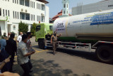 Lampung terima bantuan oksigen dari Pusri Palembang