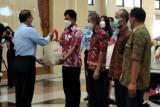 Kemenkumham Jateng bagikan 3.636 paket sembako