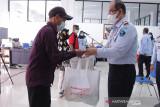 Kemenkum HAM Kalteng salurkan 951 paket sembako ke terdampak COVID-19