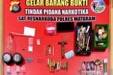 Duh! produksi ekstasi rumahan di Kota Mataram berhasil dibongkar