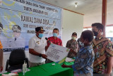 BPJAMSOSTEK Jayapura serahkan santunan tenaga kerja nonASN Keerom