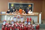 Polisi tangkap  pembuat tabung oksigen palsu