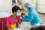 Anteraja gelar vaksinasi mandiri bagi 10.000 karyawan dan masyarakat umum