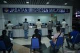 Imigrasi buka konter rekalibrasi pulang di Stulang Laut