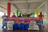 SKHB suplai ratusan makanan dan beras kepada warga tidak mampu