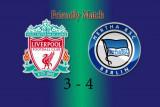 Van Dijk kembali bermain saat Liverpool takluk 3-4 dari Hertha