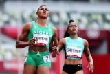 Sprinter Okaghare tersingkir di Olimpiade setelah gagal tes doping