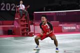 Anthony Ginting singkirkan peringkat tiga dan menuju semifinal Olimpiade Tokyo