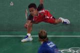 Kesabaran membuahkan kemenangan Ginting di perempat final bulu tangkis olimpiade