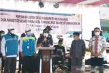 Wabup Mura resmikan jaringan listrik di empat desa