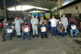 Jasa Raharja berikan Bansos dan vaksin di terminal