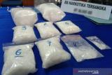 Polda Sultra ungkap peredaran narkotika sabu-sabu 5,6 kg