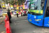 Penyekatan Pekanbaru sebabkan bus TMP berhenti beroperasi