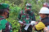 Kasum TNI tinjau lokasi pembangunan mako Kogabwilhan III di Timika
