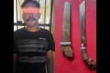 Apes! sepeda motor curian mogok, pencuri ditangkap warga Praya