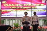 Kapolda Kalteng pimpin sertijab tiga pejabat yang bergeser