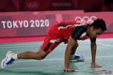 Olimpiade Tokyo-Ginting tersingkir di semifinal, berpeluang rebut perunggu