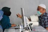 181 orang warga Padang Panjang divaksinasi di Markas Koramil